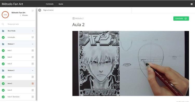desenhando animes