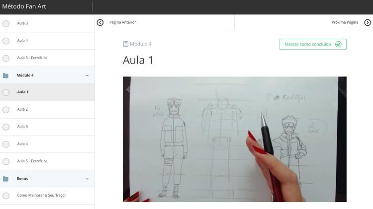 como desenhar rostos de personagens de anime