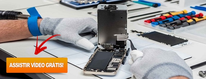 consertar arrumar celular melhor curso
