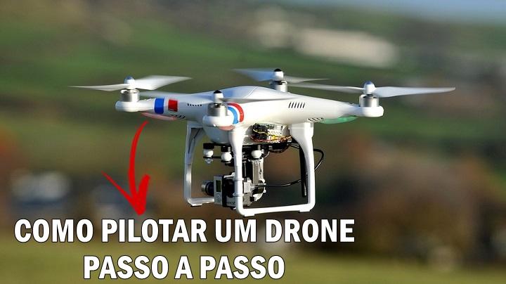 Como Aprender a Pilotar um Drone Passo a Passo em Vídeo Aulas Profissionais