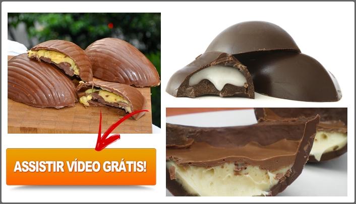 Como Fazer Ovo de Páscoa Caseiro Recheado + eBook PDF para Baixar