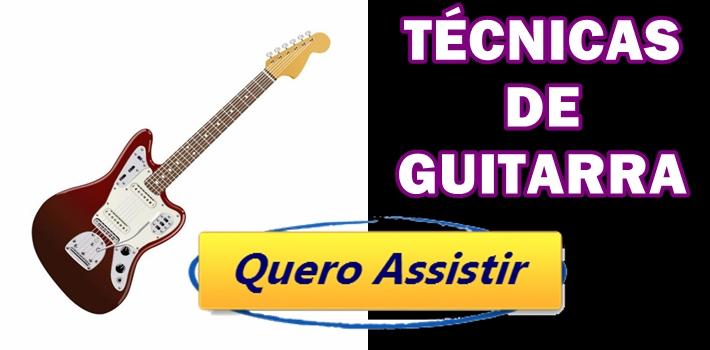 técnicas de guitarra