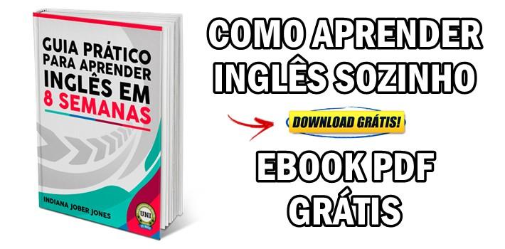 Aprender Inglês Sozinho em 8 Semanas: Guia eBook PDF