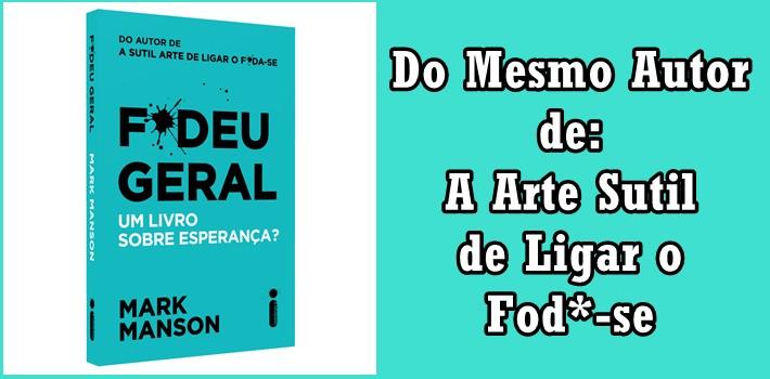 F*Deu Geral. Um Livro Sobre Esperança? eBook PDF pra Baixar?