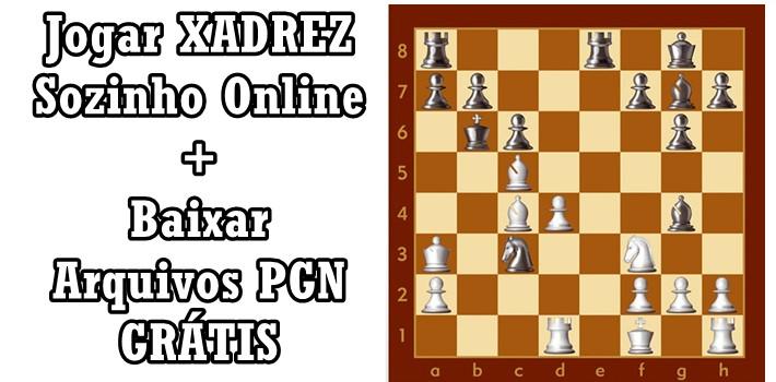 Jogar Xadrez Sozinho Online Grátis + Chess Database