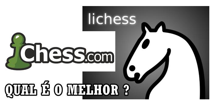 Lichess ou Chess.com? O Melhor Site pra Jogar Xadrez Online