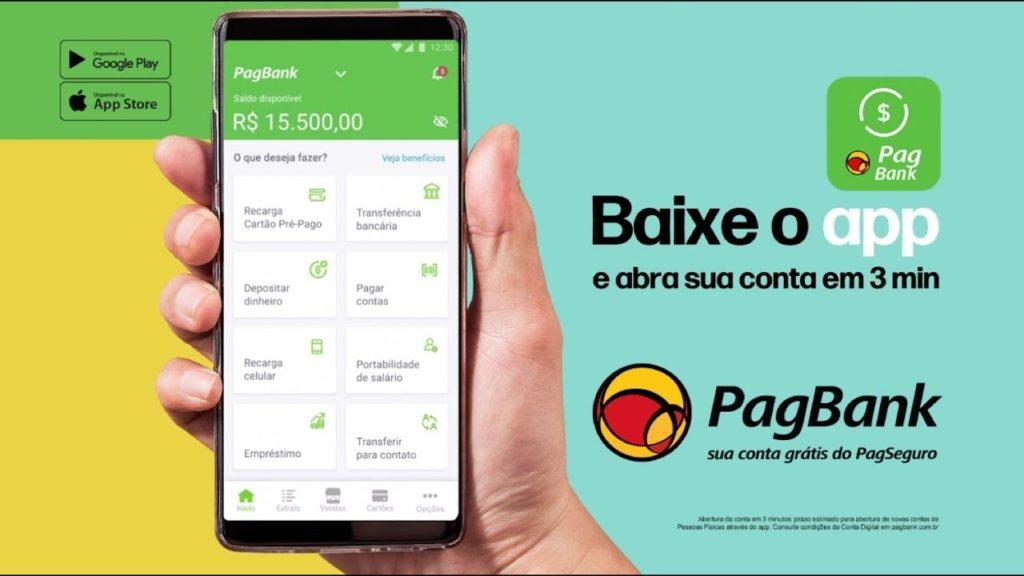 pagbank pagseguro app grátis